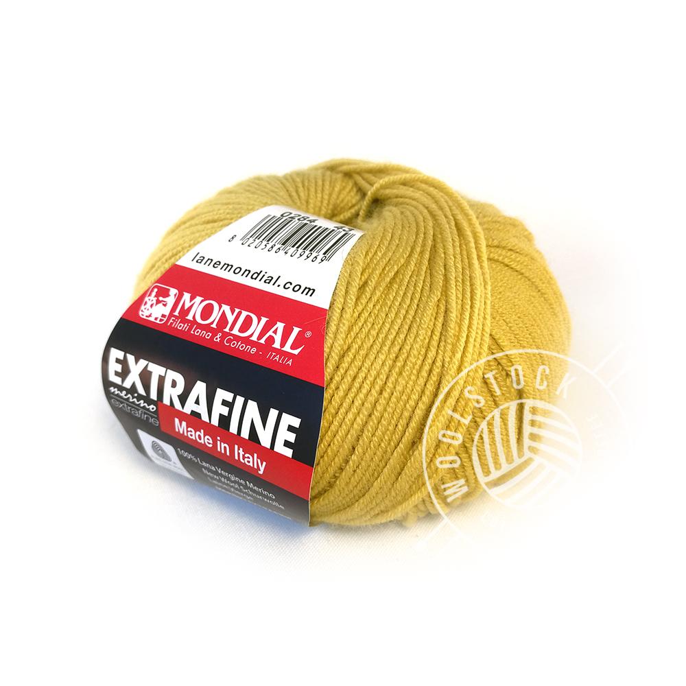Extrafine Merino 284 mustard