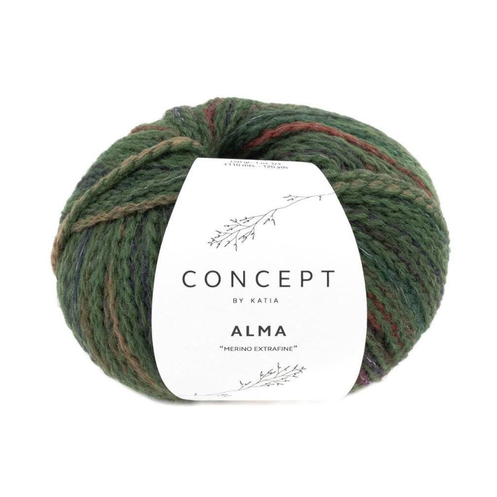 Alma 307 grøn toner