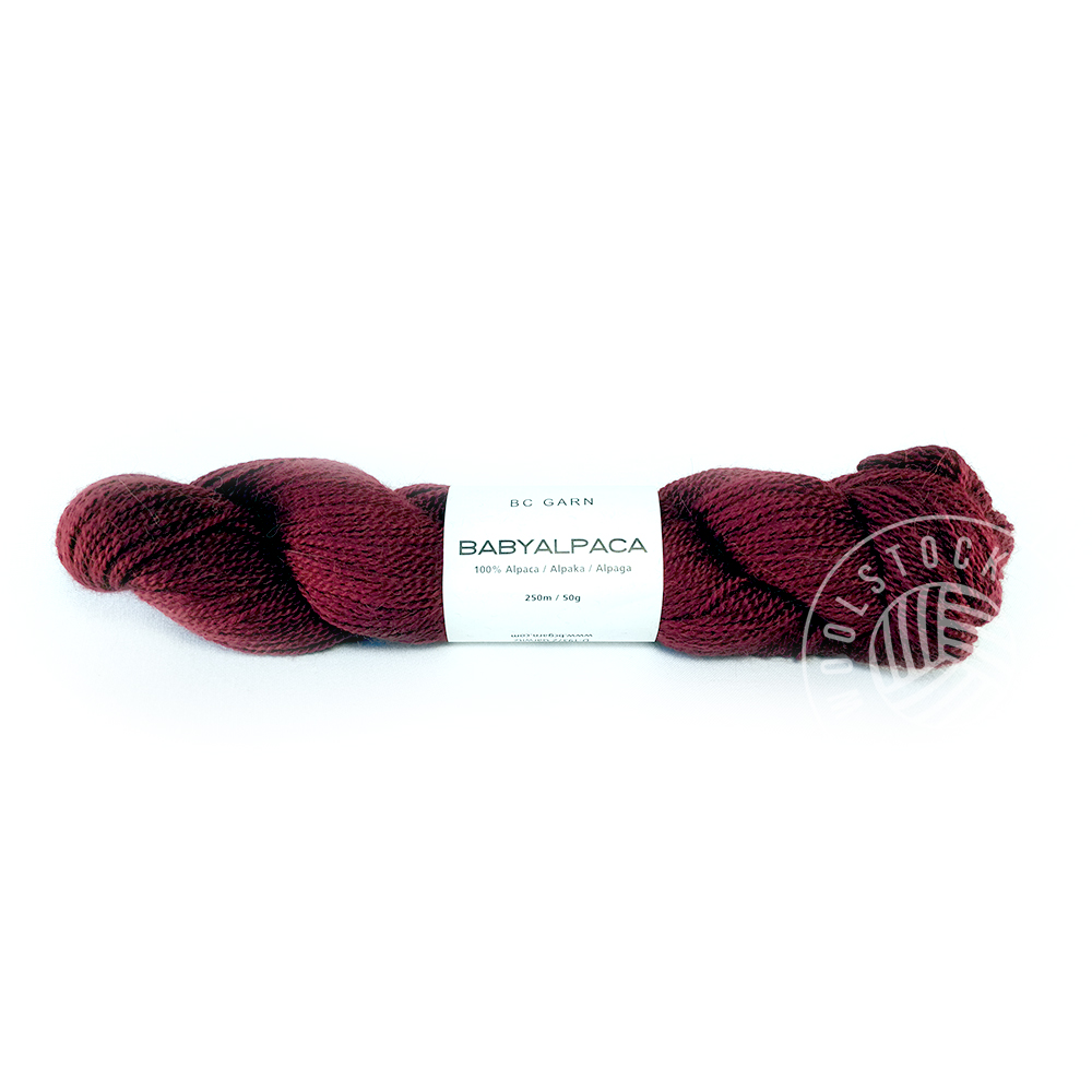 BC Baby Alpaca 08 red wine