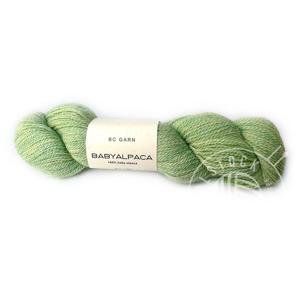 BC Baby Alpaca 118 mint tones