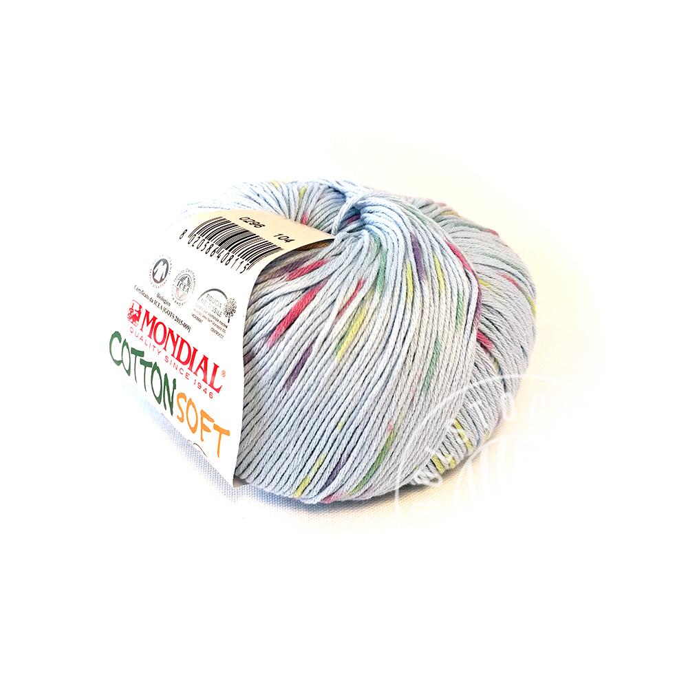 CottonSoft Bio 296 blue sprinkles