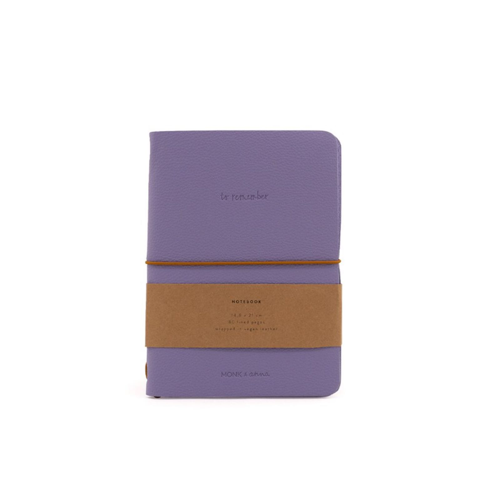 Monk & Anna Notebook - Lilac