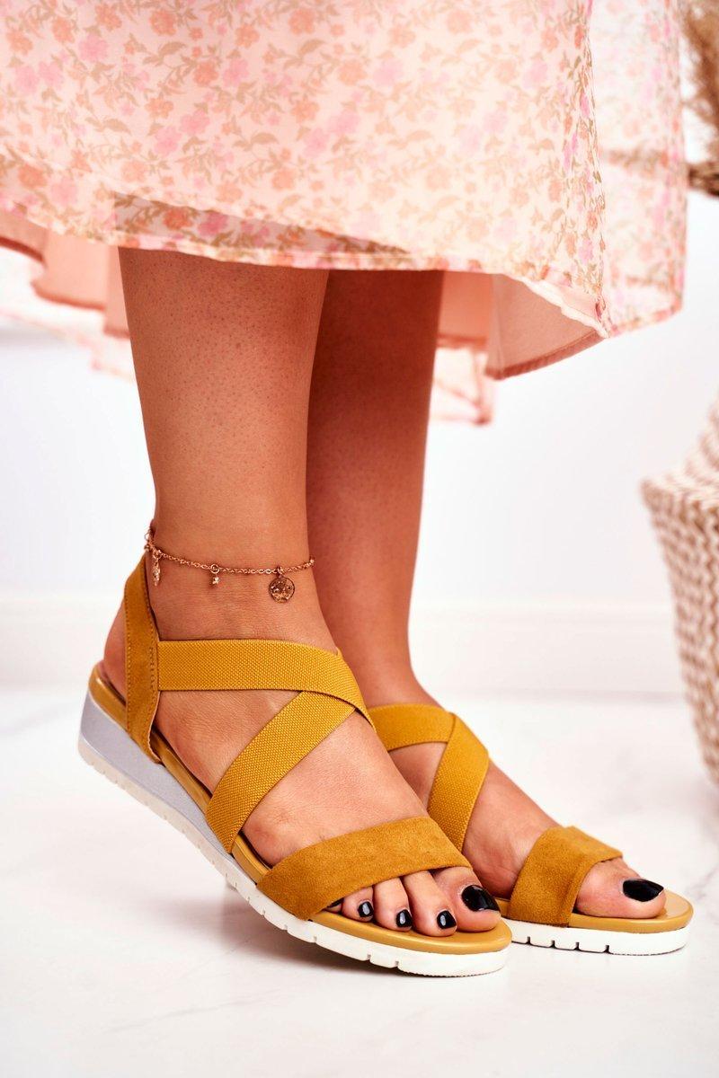 Sandaler Yellow Harper