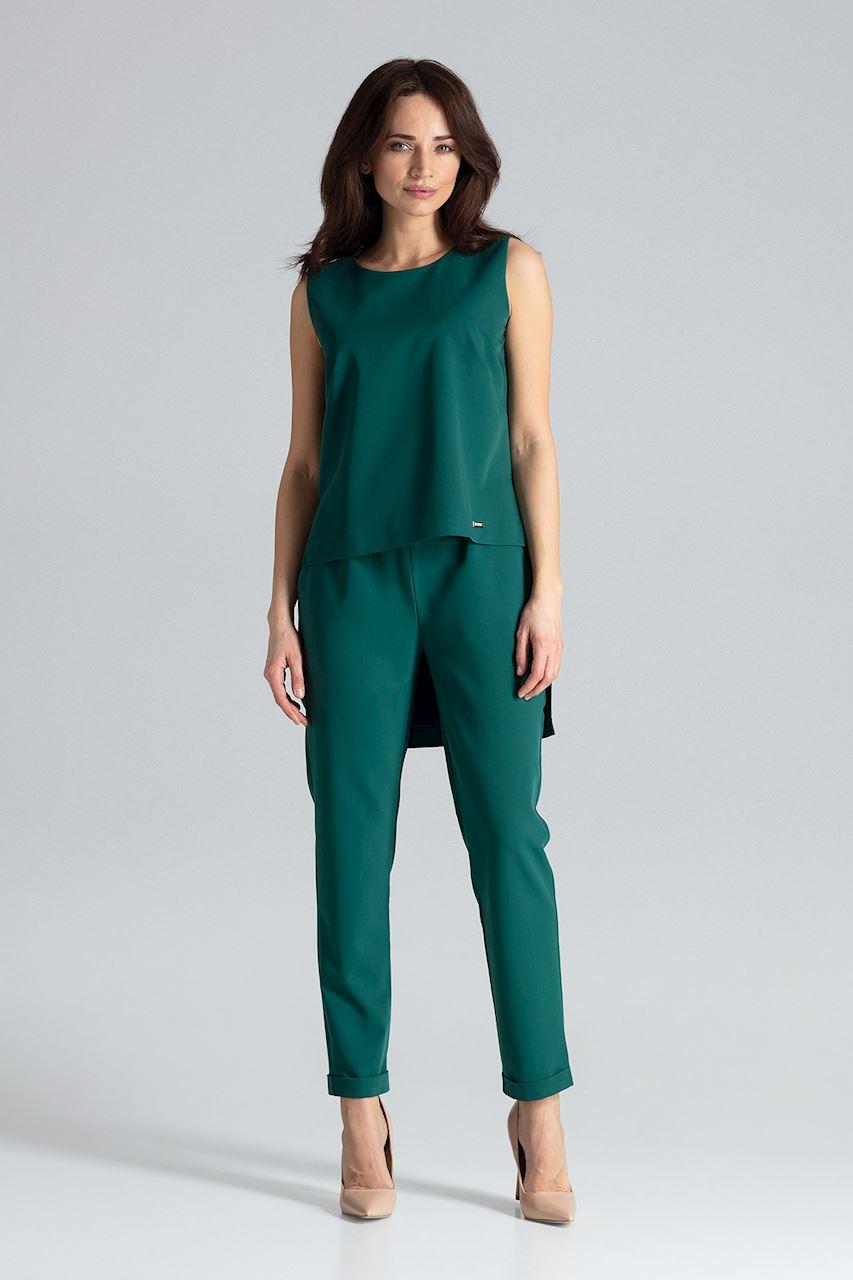 Tvådelad Matchande Kostym Grön
