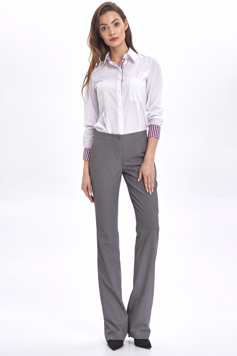 Klassiska byxor - grå