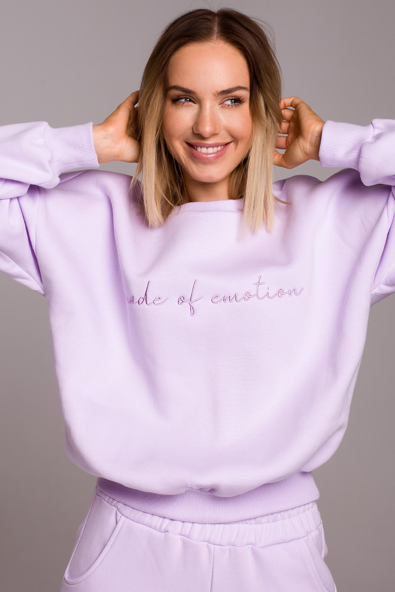 Oversized Sweatshirt Lila