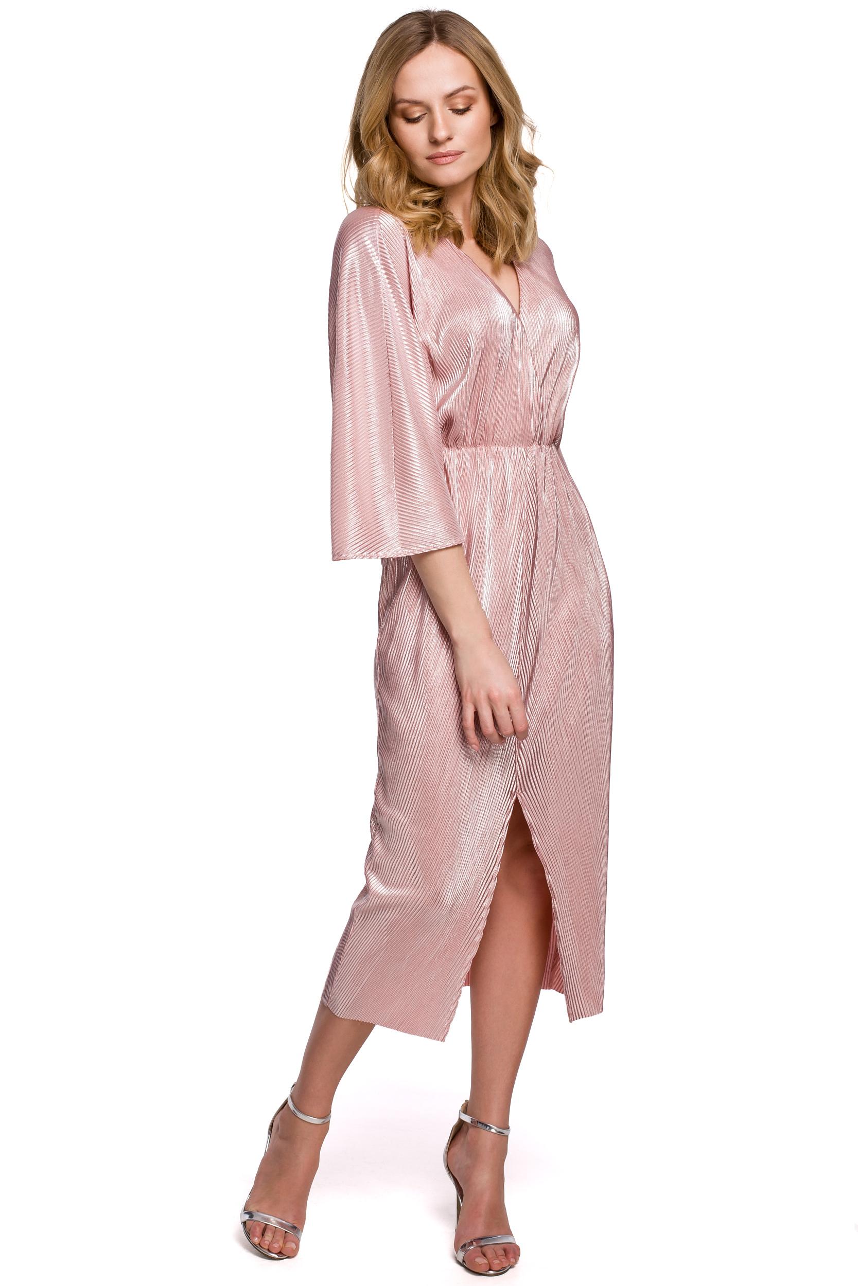 Kimono Rosa Klänning