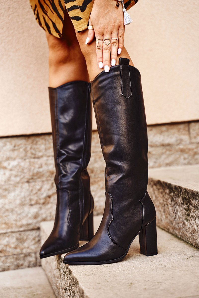 Boots Black Forever