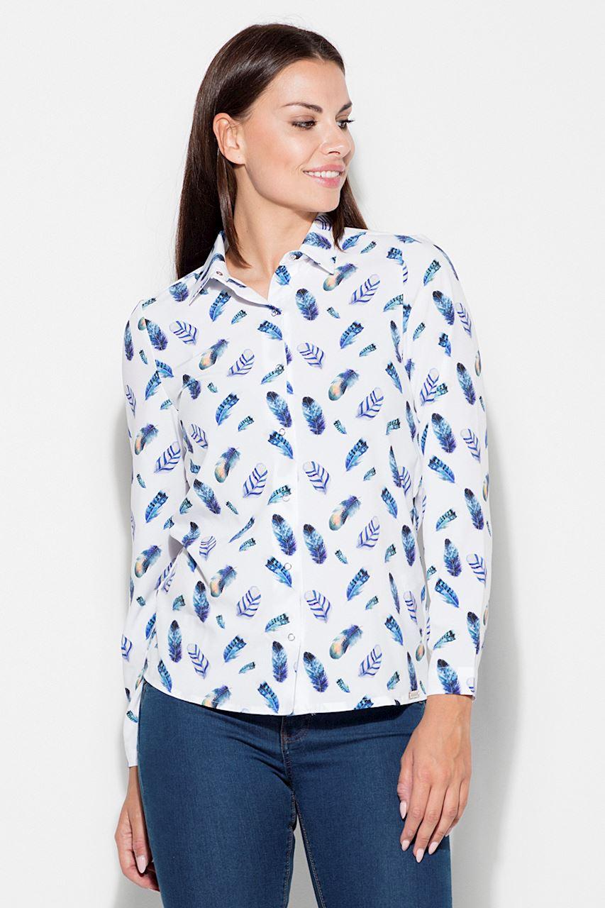 Skjorta Blå Fjäder