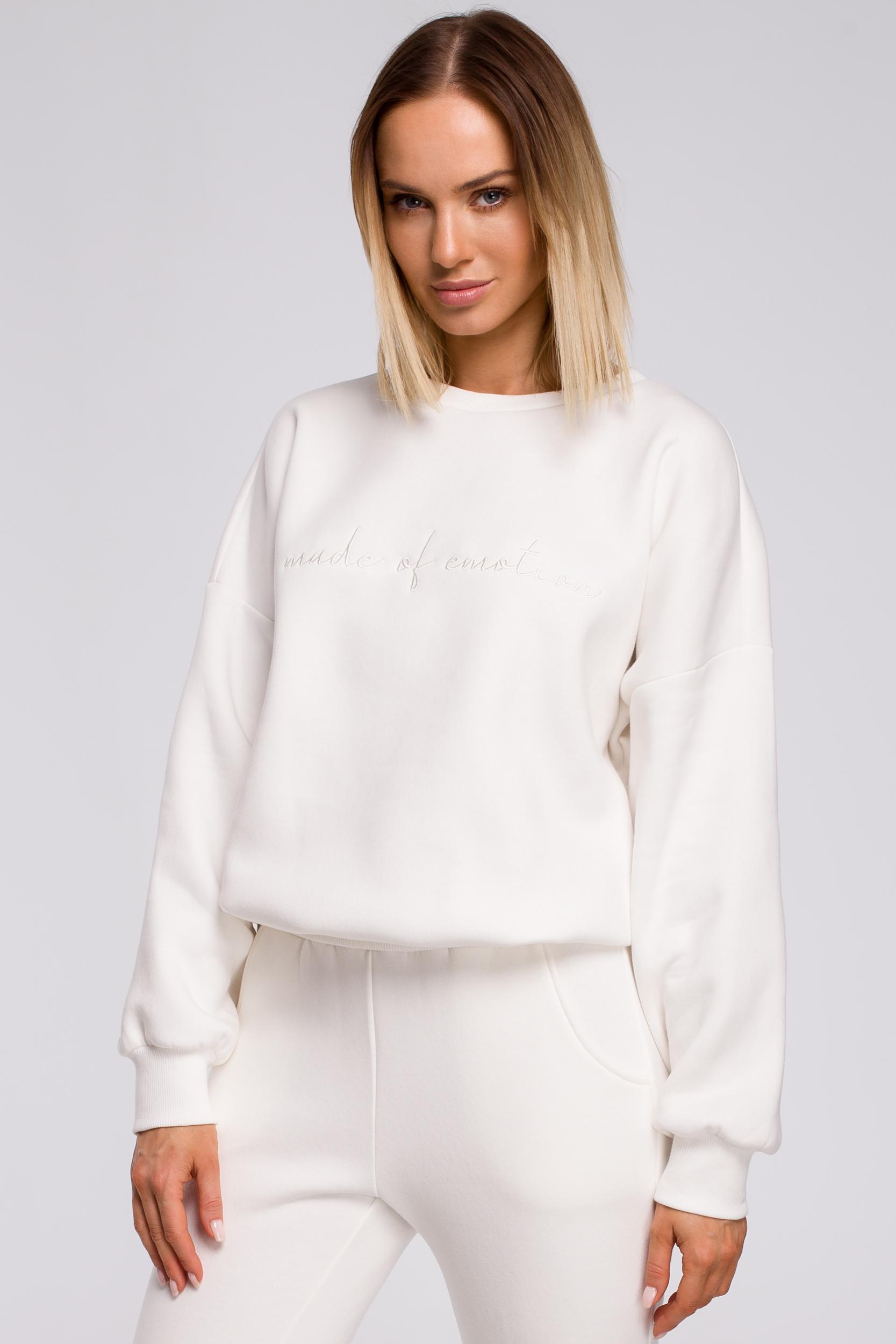 Oversized Sweatshirt Ecru
