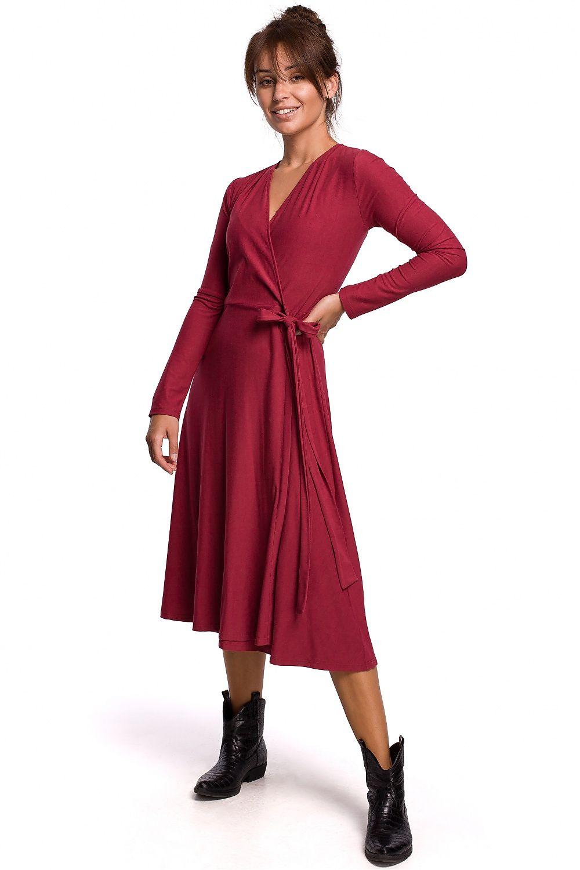 Cherry omlottklänning