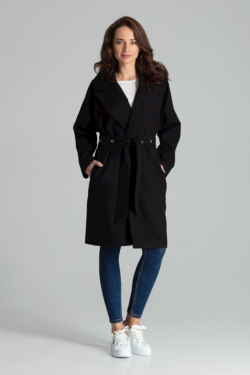 Svart Klassisk, enkel kappa