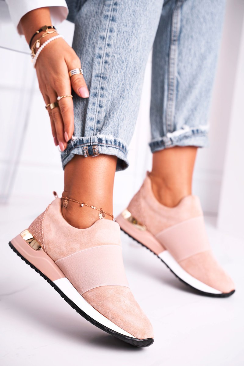 Sneakers Slip On Rosa Say Somthing