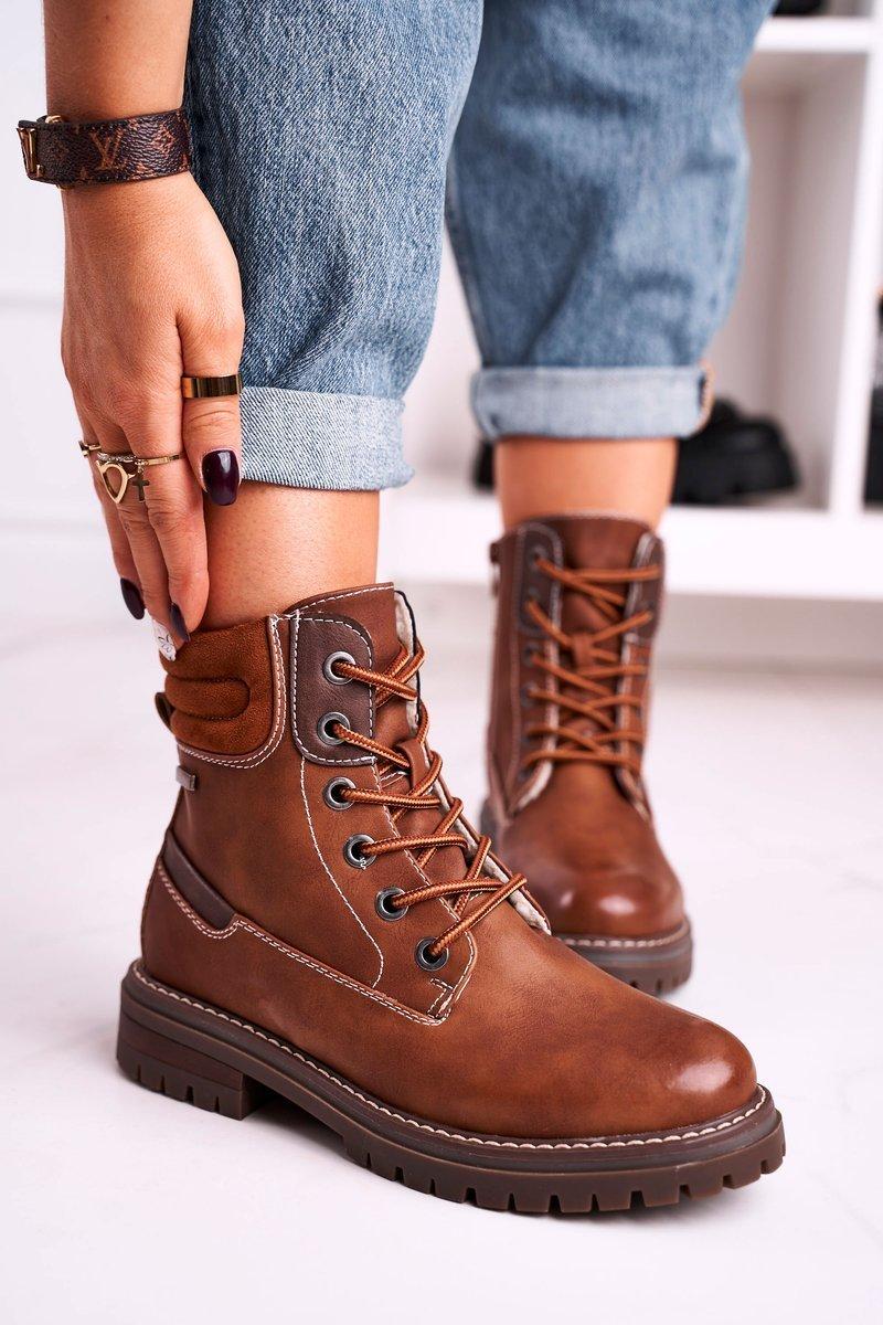 Isolerade worker boots Brun