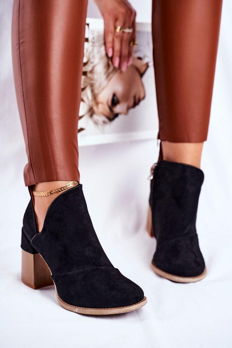 Boots Hösten Svart