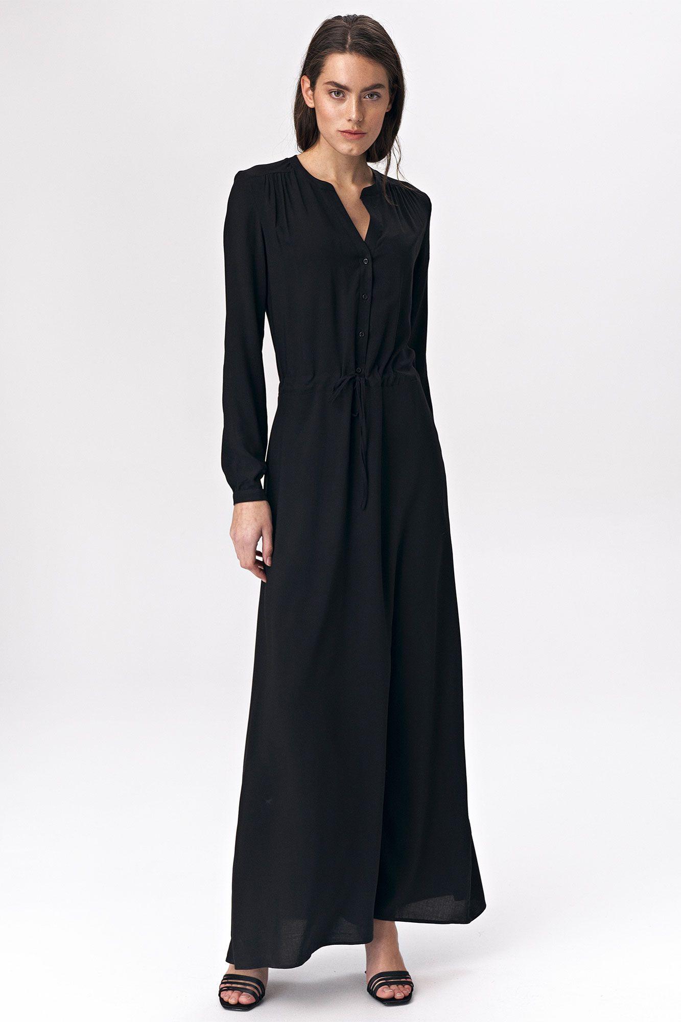 Maxi Svart klänning