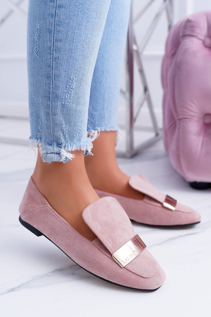Loafers Harlems Lords Rosa