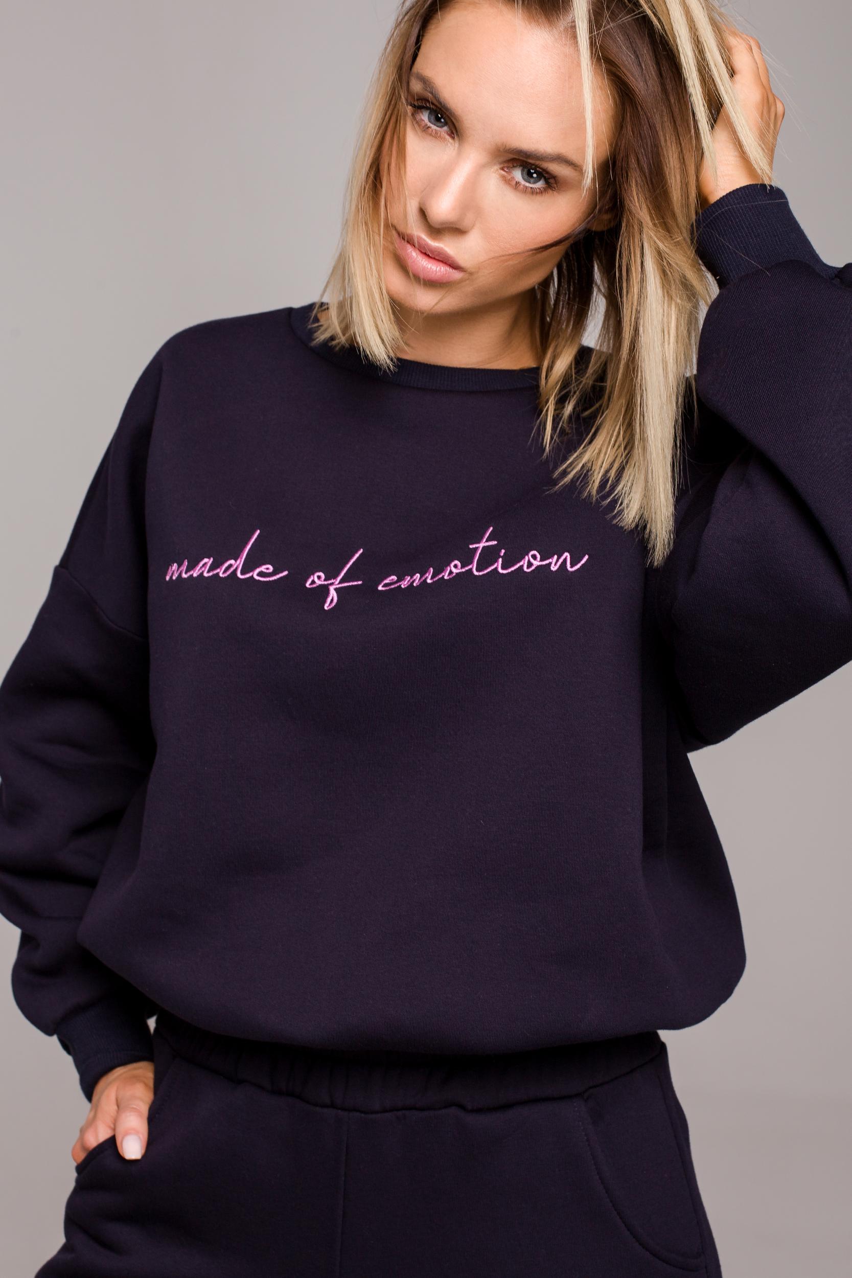 Oversized Sweatshirt Navy