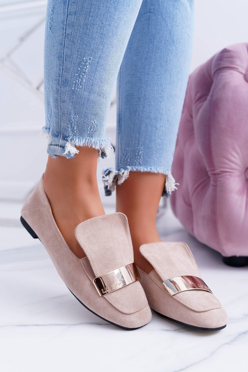Loafers Harlems Lords Beige