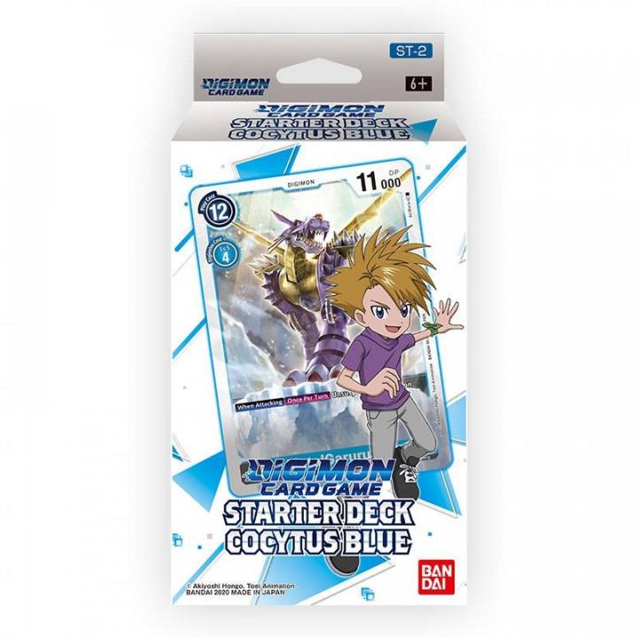 Digimon Card Game: Starter Deck- Cocytus Blue ST-2