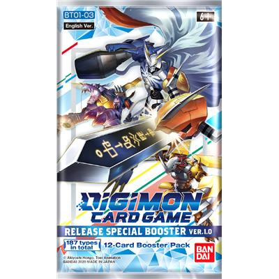 Digimon Card Game: Release Special Booster Ver.1.0 BT01-03