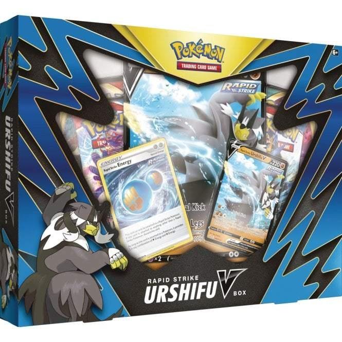 Pokemon TCG: Single/Rapid Strike Urshifu V Box