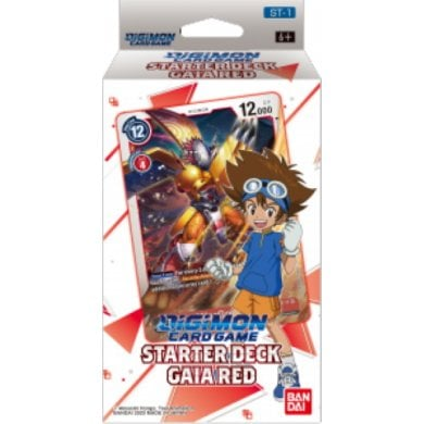 Digimon Card Game: Starter Deck- Gaia Red ST-1