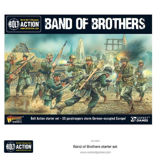 "Bolt Action 2 Starter Set ""Band of Brothers"""