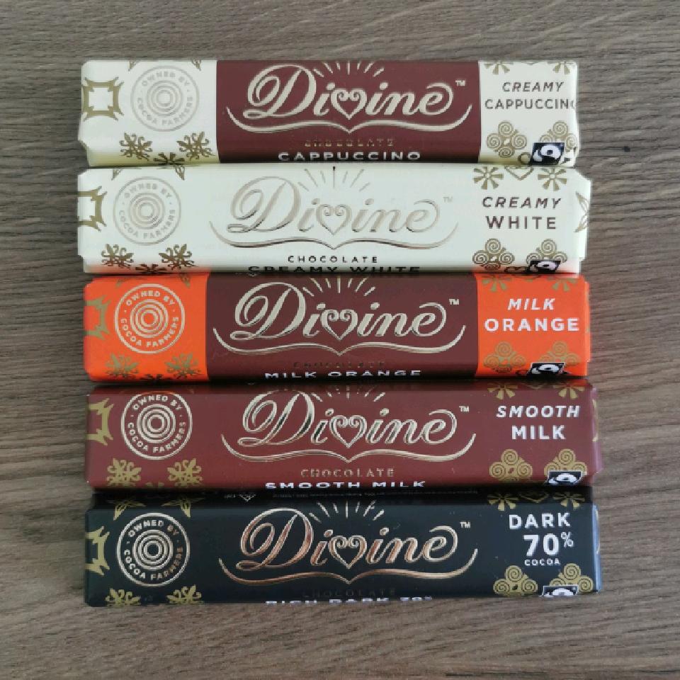 Divine Snackbar 35 g