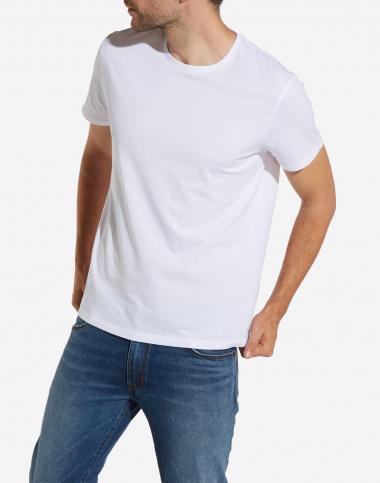 Wrangler T-shirt bomull vit