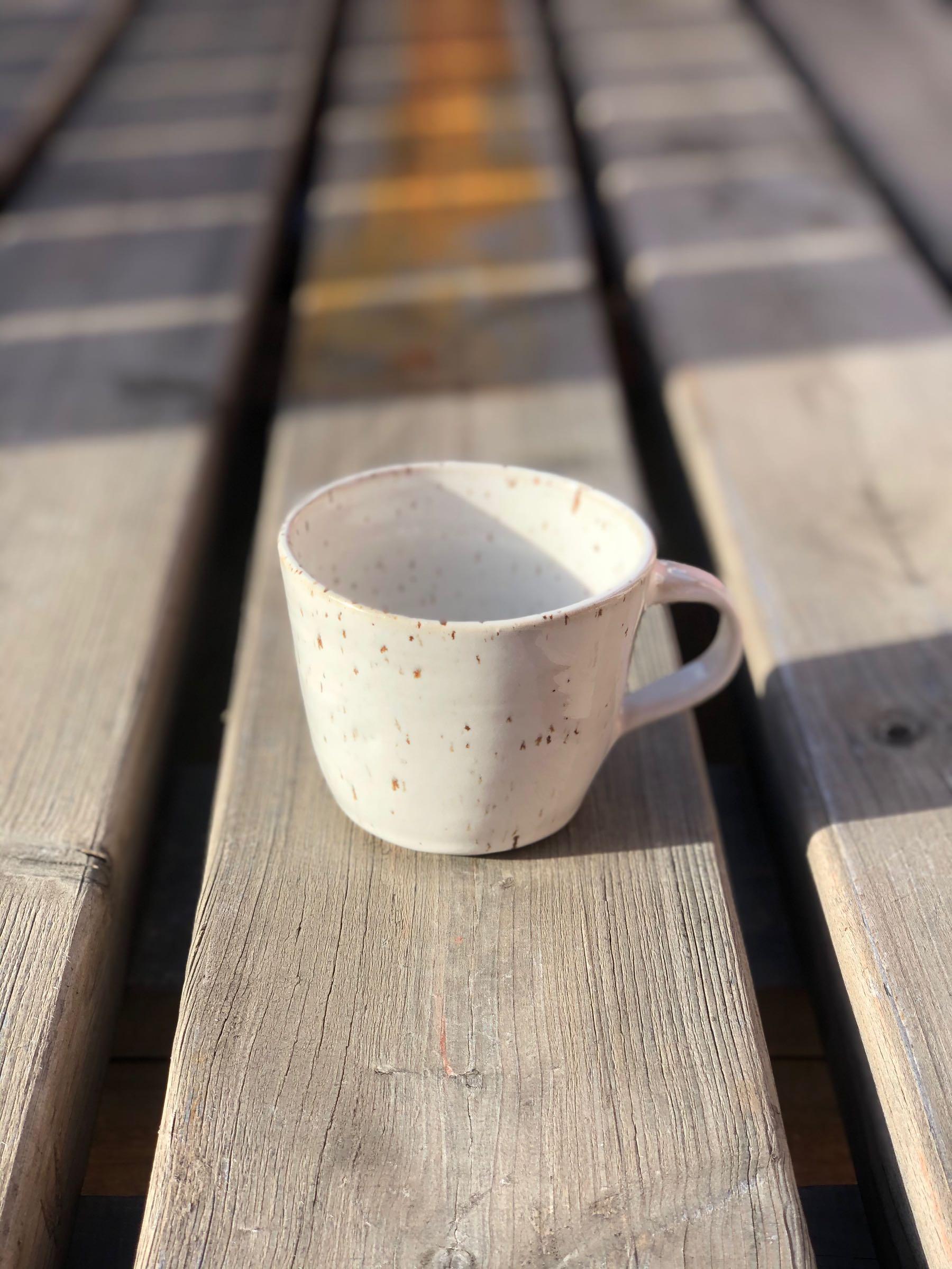 SVEA kaffekopp med öra