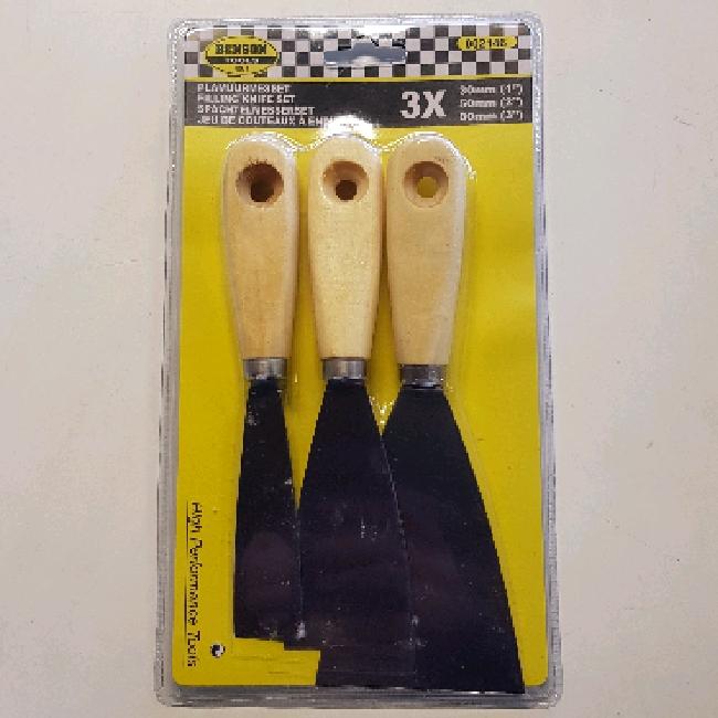 Spackelspadar 3 pack