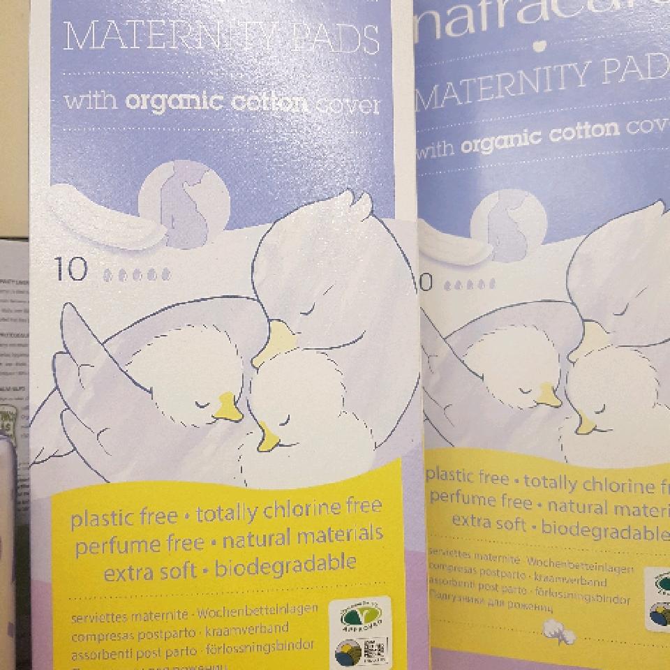 Maternity Pads- organic cotton