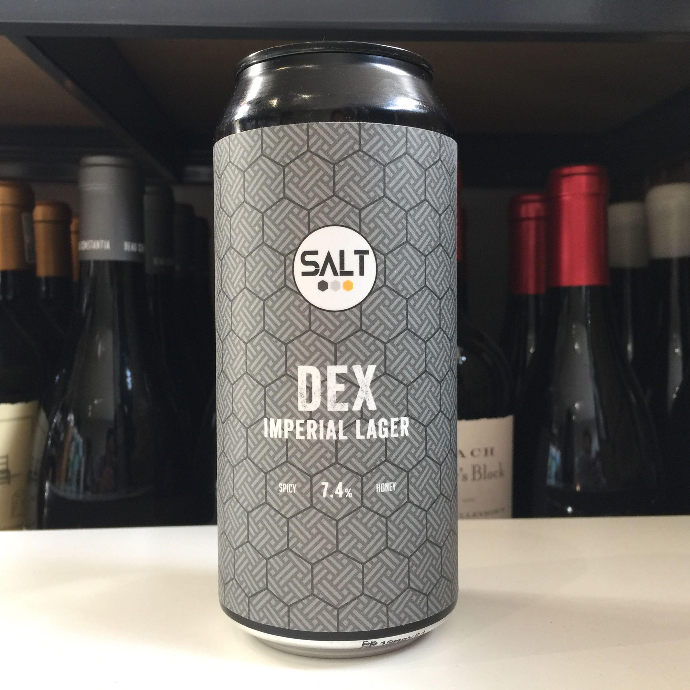 Salt Beer Factory 'Dex' Imperial Lager 440ml 7.4% ABV