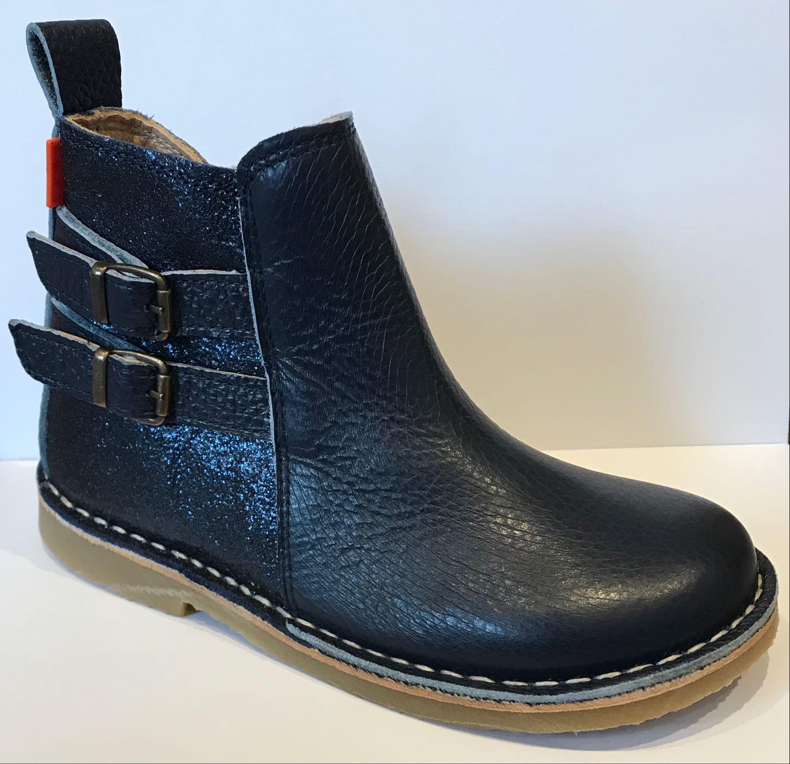 Petasil Eva Navy Madras Boots