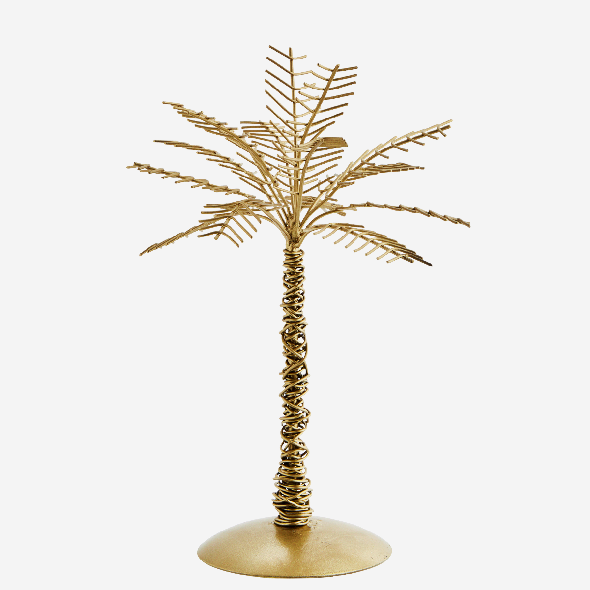 Iron Palm Tree, Antique Brass by Madam Stoltz