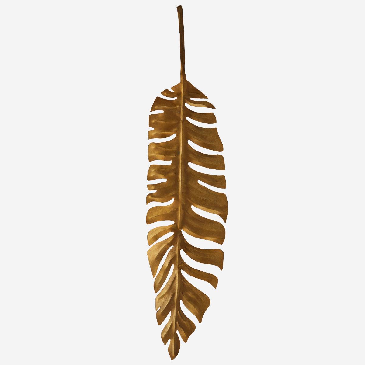 Hanging Iron Leaf by Madam Stoltz