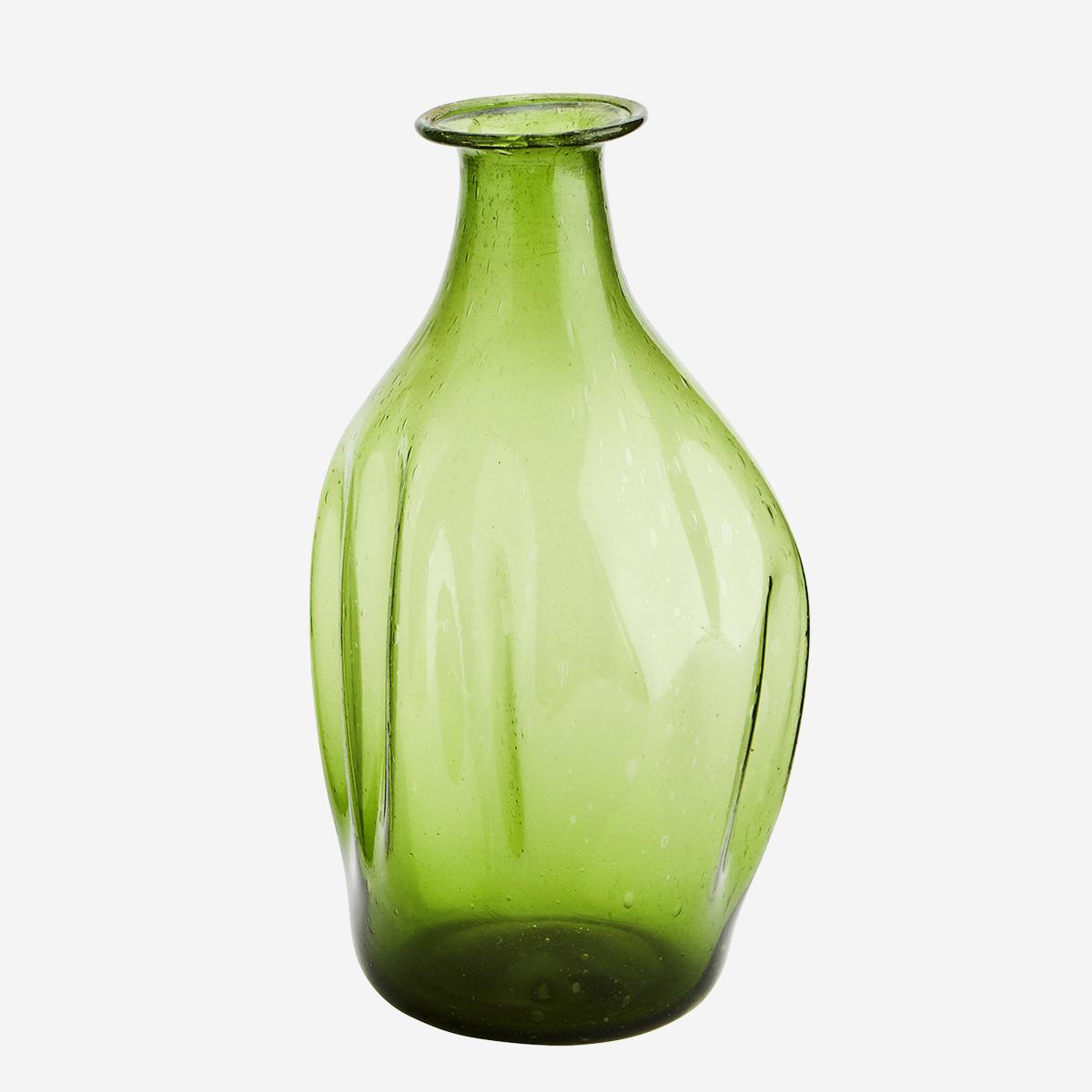 Recycled Glass Vase by Madam Stoltz
