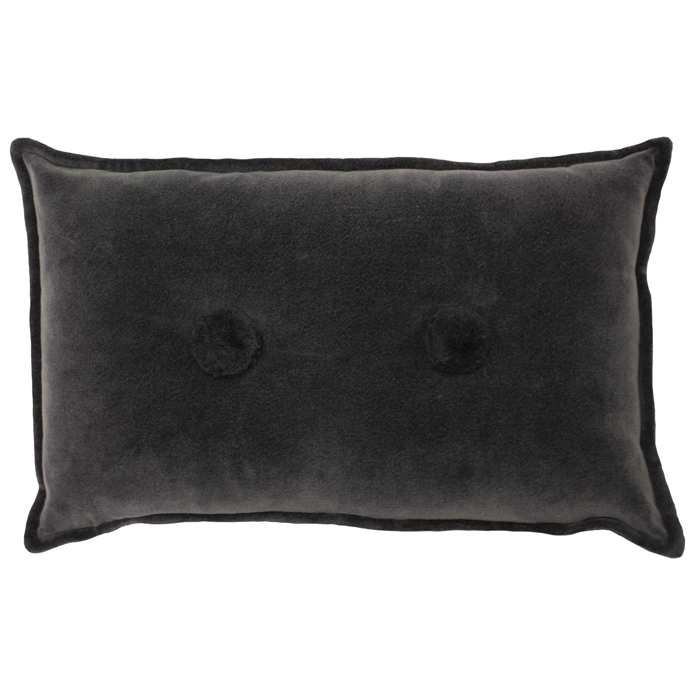 Bobble Cushion, Charcoal by furn.