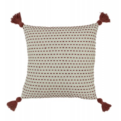 Ezra Cushion, Red Clay by furn.