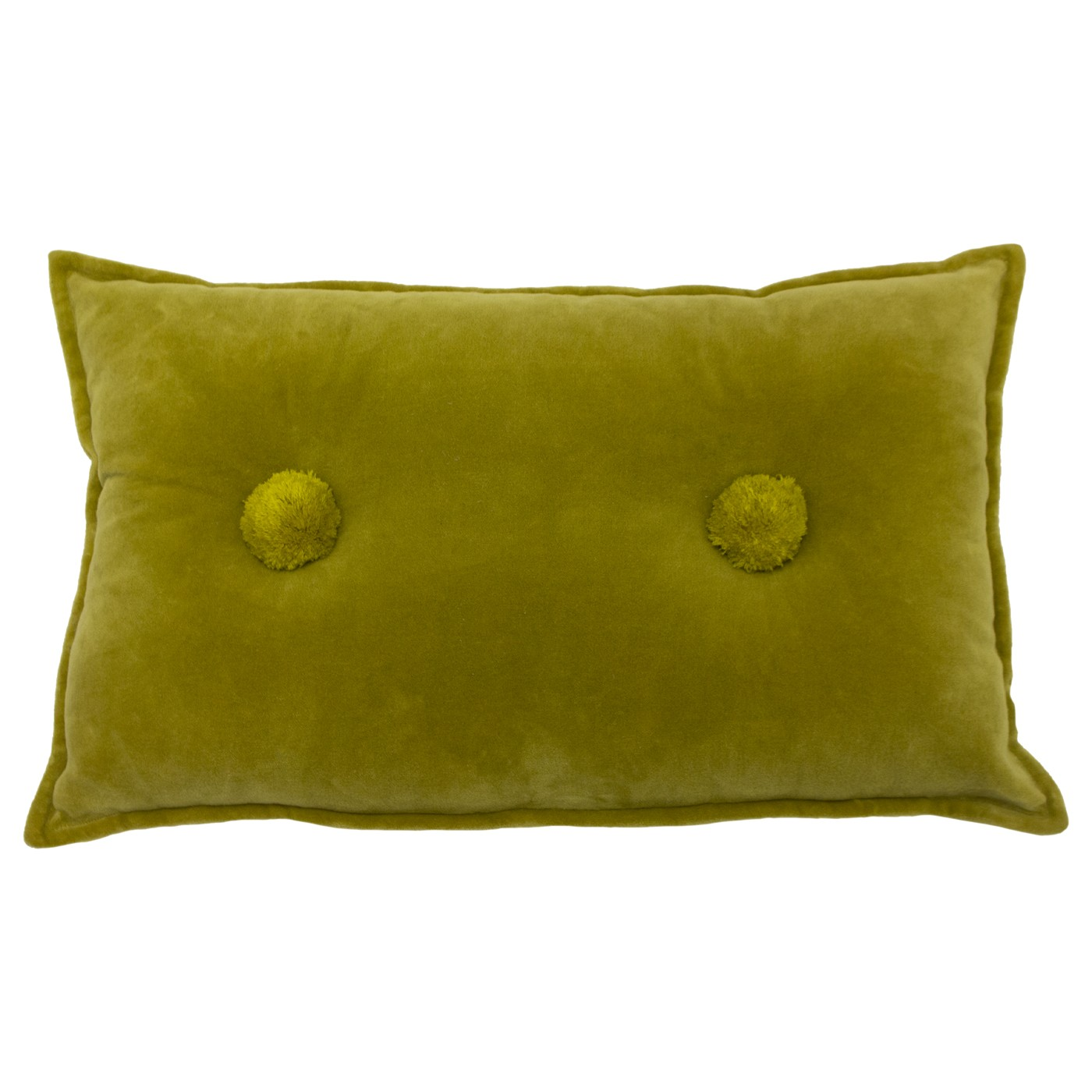 Bobble Cushion, Ochre by furn.