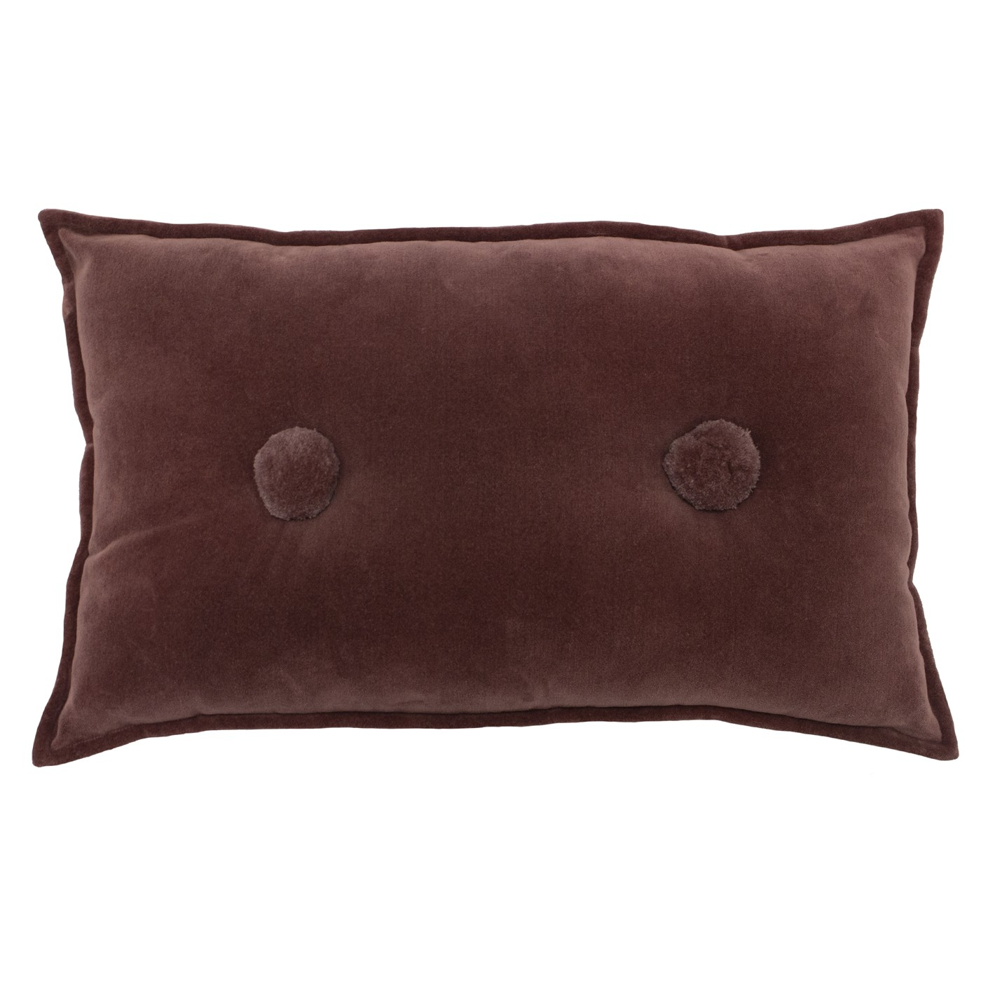 Bobble Cushion, Rock Rose by furn.