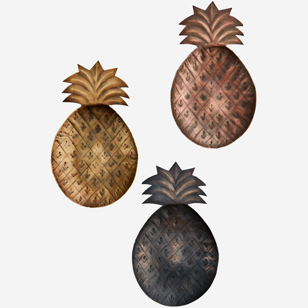 Pineapple Trays Assorted by Madam Stoltz