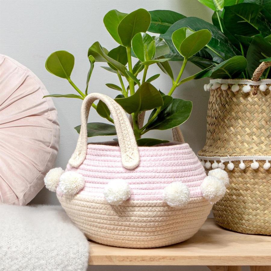Pink Tardo Basket by Chickidee