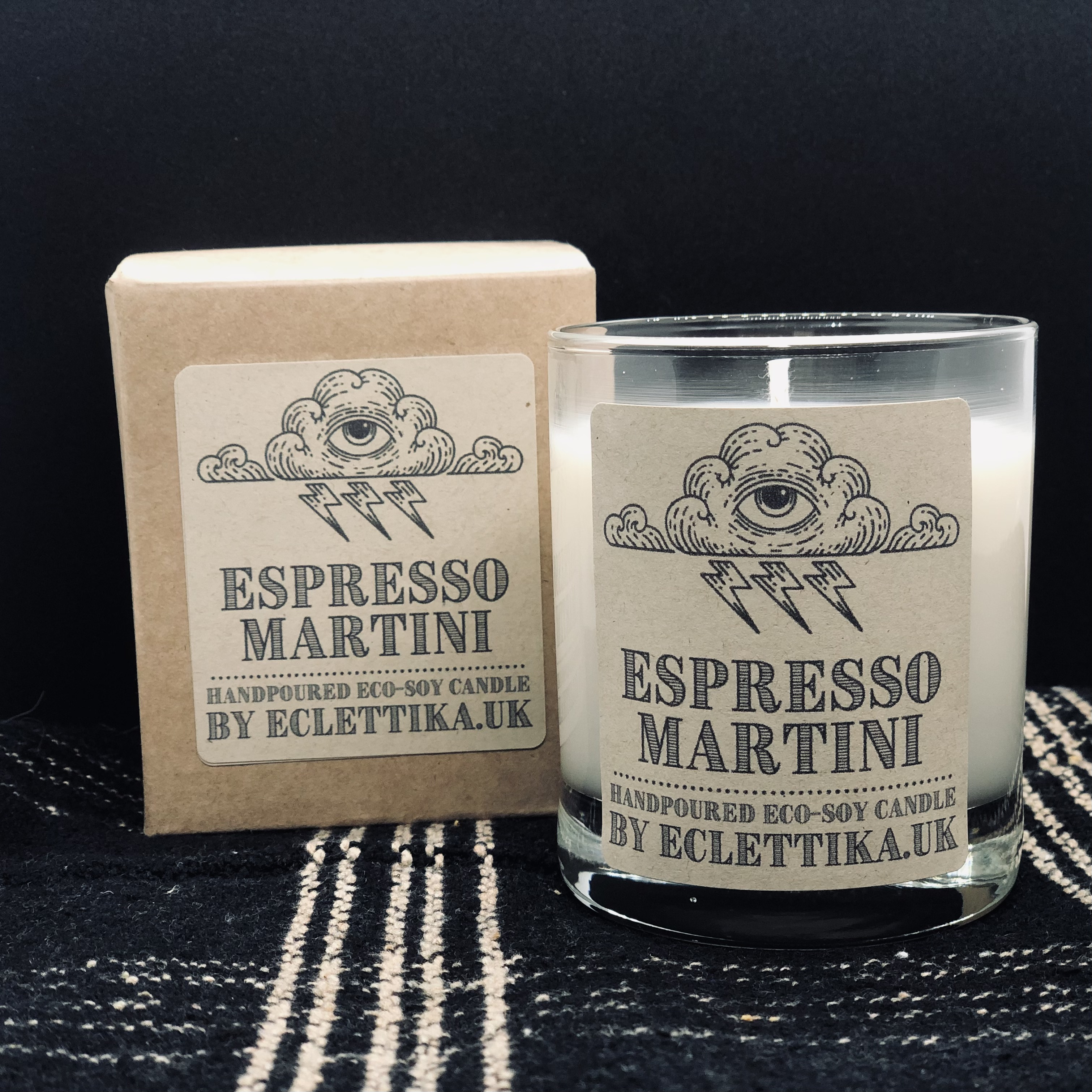 Espresso Martini Fragrance Hand Poured Candle by Eclettika