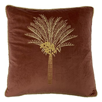 Desert Palm Cushion, Rock Rose by furn.