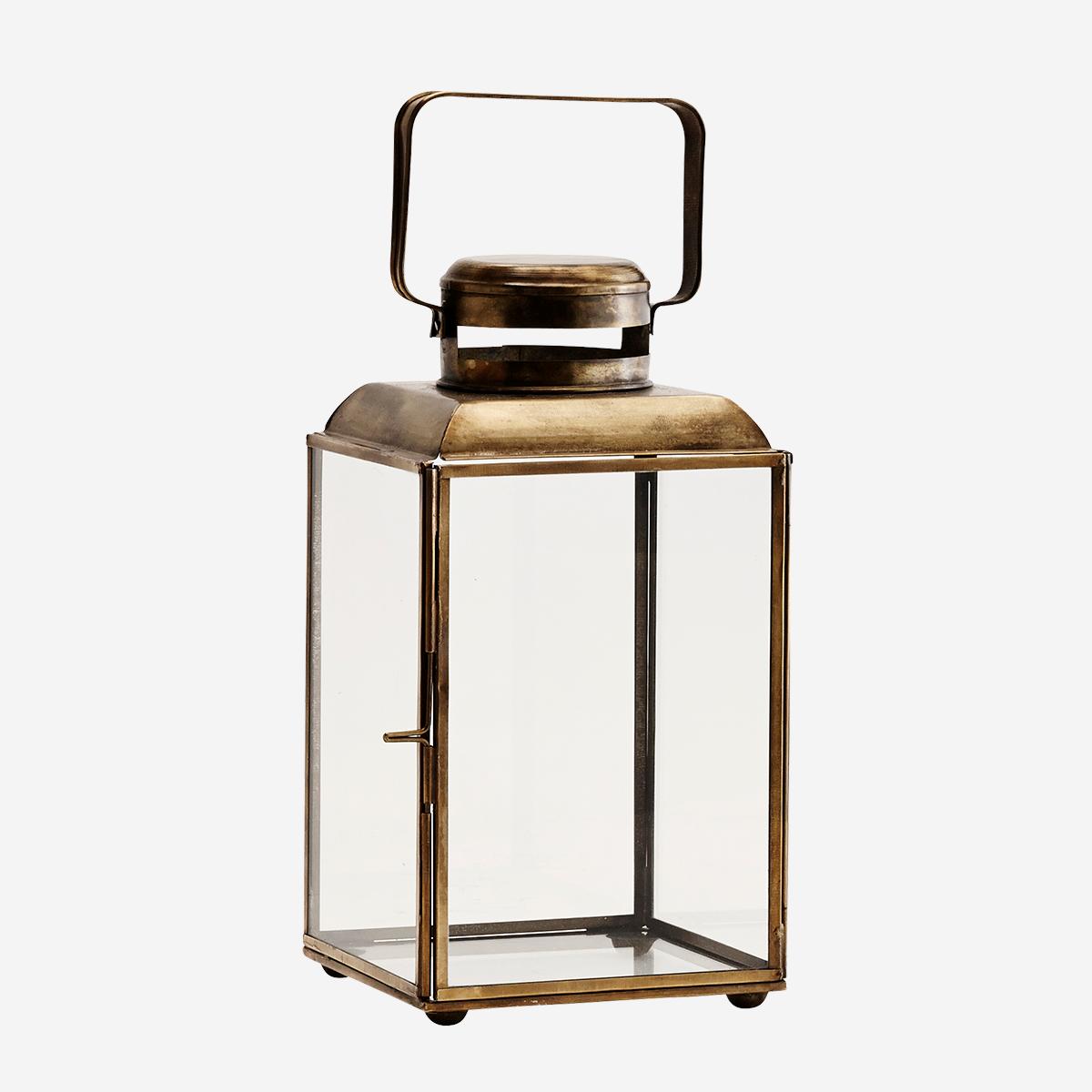 Iron Lantern, Brass by Madam Sholtz