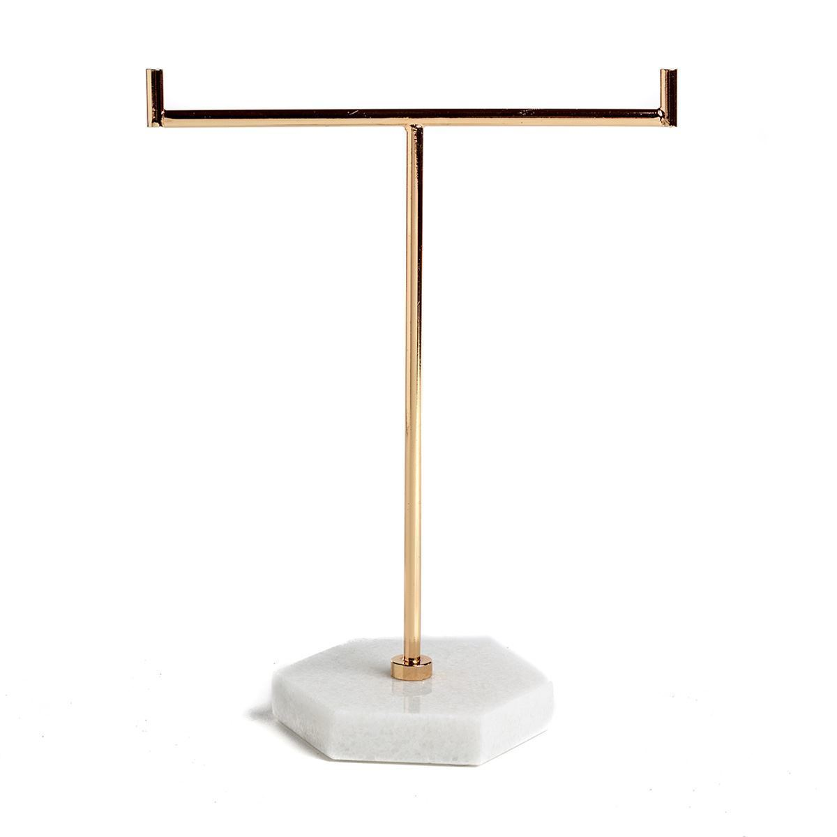 White Marble Jewellery Stand by Chickidee