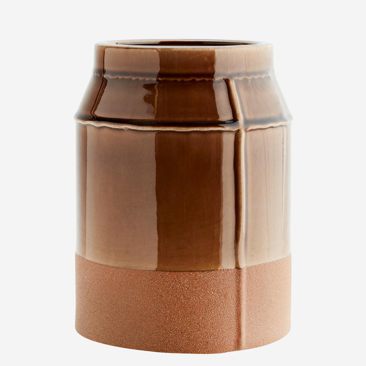 Stoneware Vase by Madam Stoltz