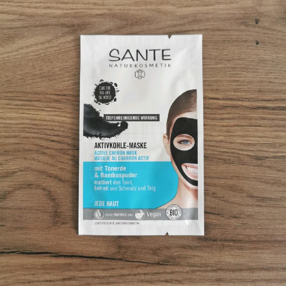 Sante Aktivt Kol Ansiktsmask